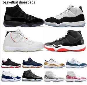 bred Newest 11 Men 11s basketball shoes concord 45 Cap and Gown Space Jam Mens Trainers Sports Sneakers Size 5.5-13 Drop Shipping