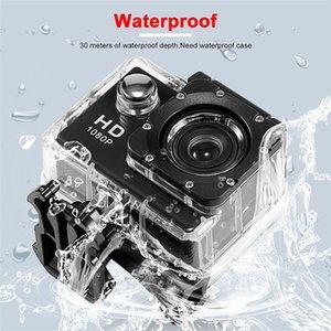 New International Mini Waterproof Sports Action Camera 1080P HD Camera Helmet Cam with retail box Free shipping