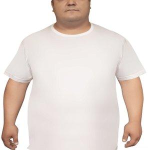 SET 3 TÜRKISCHE COTTON Men Plus-Big Size UNDER Schlaf Unterwäsche der Männer Unterwäsche Bekleidung T-Shirt gesleevt Singlet Weste Unterjacke Tank Top