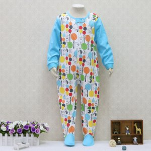 Big Boys 100% Cotton Rompers Long Sleeve Girls Sleepers One Piece Children Clothes for about 2 to 7 years old baby Christmas