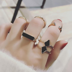 designer jewelry arrows rings sets joint band rings for women 5pcs a set simple classic hot fashion