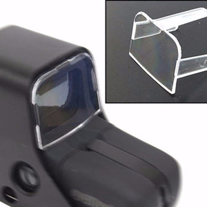 High Quality Tactical Hunting Airsoft Scope Red Green Dot Sight Lens Protective Holosight Cover For 551   552   553   557 Type