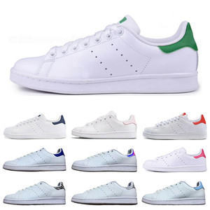 Adidas Stan Smith Klassische Frauen Männer neue Stan Schuhe Mode Schmied Turnschuhe Freizeitschuhe Triple weiß schwarz grün rot Leder Sport Größe 36-45