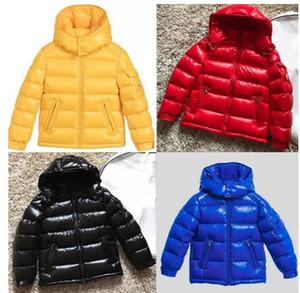 Europäische und amerikanische Stil Luxus 95% Ente unten Kinderjacke Winter warm Daunenjacke mit Kapuze Kinder Marke Daunenmantel