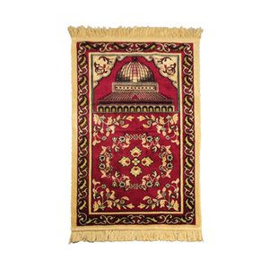 Lightweight Durable Decoration Bedroom Home Prayer Mat Muslim Kneeling Folding Artificial Cashmere Anti Slip Exquisite Practical