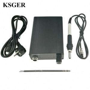 KSGER OLED T12 паяльник станция Электрический утюг DIY ручки инструмента STM32 OLED терморегулятор держатель Стенд сварки T12-K V8FZ #