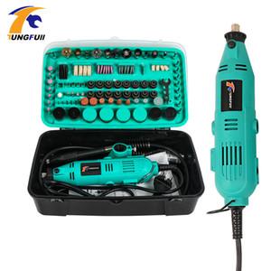 Tungfull Mini Дрель Dremel Style сверлильный станок Dremel Буры Инструмент для роторного инструментов Аксессуары Grinder Electric Hand Drill