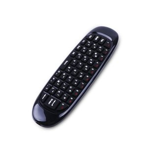 C120 Fly Air mouse Gaming Keyboard giroscopio a distanza della tastiera di controllo senza fili 2.4Ghz per Andriod TV Box PC