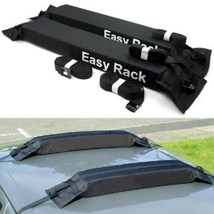 Freeshipping Universal Auto Soft Car Roof Rack Outdoor Rooftop Luggage Carrier Load 60kg Baggage Easy Fit Removable