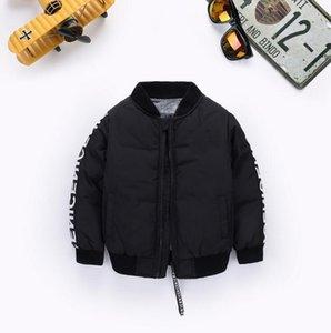 Горячие дети Продажа вниз пальто ветровки Куртки Зимняя куртка мальчика детей способа Толстые пальто для мальчика 2019 Детская ветровка куртки