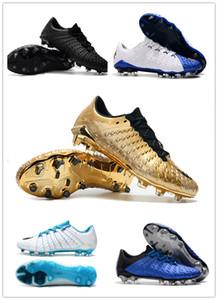 2019 originale Hypervenom Phantom III DF FG scarpe da calcio all'aperto Hypervenom ACC Calzini di calcio tacchetti basse scarpe da calcio caviglia 39-45