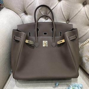 Designer-Handtaschen Damen Business Casual Ledertaschen Luxus Togo Leder verpackt mit Staubbeutel Gold oder Silber Hardware beide erhältlich