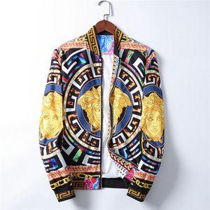 Top qualità del progettista del Mens Jacket Zipper Bomber Jacket Mens 20ss Uomo Casual Windbreaker esterno di inverno Streetwear Coat