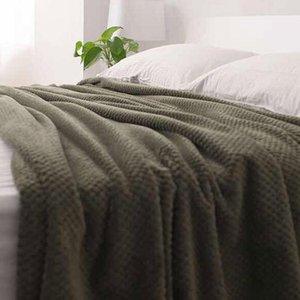 Super Soft Blanket Office Travel Blanket Children Bed Towel Fleece Mesh Portable Car Travel Travel Cover