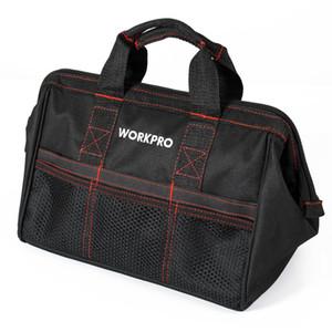 """Envío WORKPRO 13"""" de alta calidad bolsa de herramientas con cremallera superior bolsa multifunción bolso de los hombres de Oxford bolsa de viaje gratuito"""