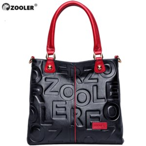 HOT ZOOLER 2019 Luxe Sacs à main Femme Sacs Designer en cuir véritable sac à main en cuir de vache femmes de haute qualité Mochila Feminina T200102