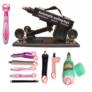 Автоматическая Sex Machine Gun с большой дилдо аксессуары Реалистичная Penis женской мастурбации Секс Машины для взрослых секс игрушки для женщин / Mem