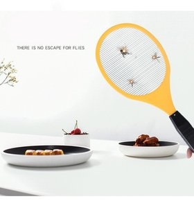 2 Type Multifunction Electric LED Mosquito Swatter Fly Swatter Bug Killers Racket Mosquito Killer Anti-mosquito Shoot Without Battery