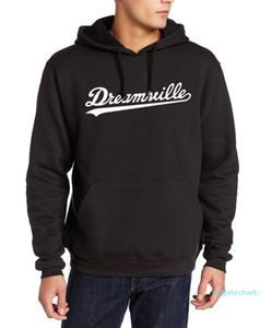 Uomini Dreamville J .Cole Felpe con cappuccio della molla di autunno Felpe Hip Hop Pullover Casual Top che copre trasporto libero