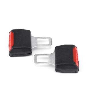 Sicherheitsgurt Schnalle 2pcs Universal Auto Sicherheitsgurt Clip Black Extender Sicherheitsgurte Plug Alarm Canceller EEA277