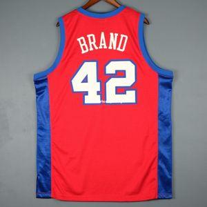 100% Stitched #42 Elton Brand Sewn Jersey blake griffin Mens Vest Size XS-6XL Stitched basketball Jerseys Ncaa