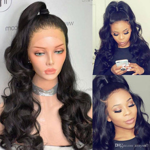 Brazilian Body Wave Wigs Pre Plucked Full Lace Frontal Wig Remy Hair Wig 180% 13x4 Lace Frontal Human Hair Wig Black Women