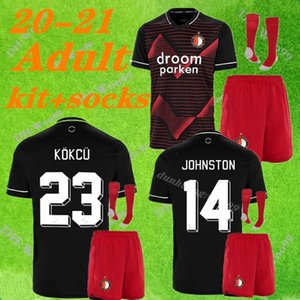 new Adult kit +socks Feyenoord 19 20 soccer jersey home away 2019 2020 V.PERSIE LARSSON 19 BERGHUIS 10 VILHENA 9 JORGENSEN JERSEY SHIRT