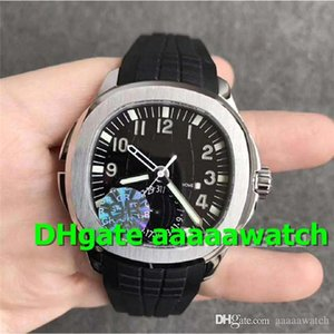 GR Top Sport Watch 5164A Men watches Swiss 324CS Automatic Watch Sapphire Crystal 316L Stainless Steel Rubber Strap See-through case back