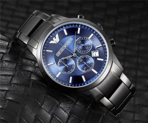 nouvelle montre à quartz hommes calendrier perpétuel rose Watcha M N de cadran blanc or les hommes en caoutchouc blanc