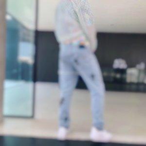 2020 париж Itlay куртка Узких джинсов Повседневная Уличная мода Кармана Теплый Мужчины Женщина Пары Outwear свободного корабля 0408