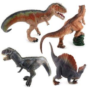 Modelo clásico dinosaurio Sólido Sur Modelo Behemoth emperador dragón de cuello largo brontosaurios dinosaurio Decoración