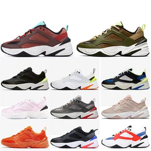 Nike M2K TEKNO Air M2K Tekno Zoom 2K Sıcak satış Kadınlar Erkek Koşu Ayakkabıları Monarch Baba MAHOGANY MINK Zeytin Klasik Beyaz Siyah Turuncu Tasarımcı Eğitmenler Sneakers