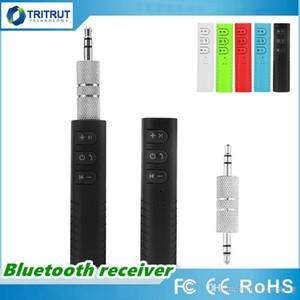 BT2 mini Bluetooth Receiver Car Audio AUX ricevitore wireless adattatore Chiamata a mani libere e Wireless Music Playing 3.5mm mq30