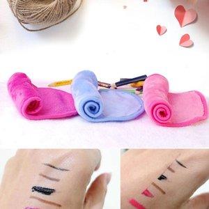 Trucco tovagliolo magico viso asciugamani in microfibra riutilizzabile donne viso Panno Makeup Remover la pulizia della pelle lavata Asciugamani Tessile calda 40 * 17cm LXL479-A