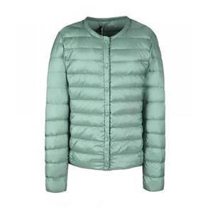 Fitaylor Nuevas mujeres de invierno Ultra Light White Duck Down Jacket Short Coat Casual Casual Abrigos Mujer Plus Tamaño S-3xl Parka caliente