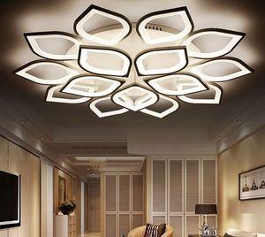NUEVA MODERNA NUEVA ACRILIC LED LIGHT LUCES DE Techo para la sala de estar Plaufon LED LED Lámpara de techo para el dormitorio Myy