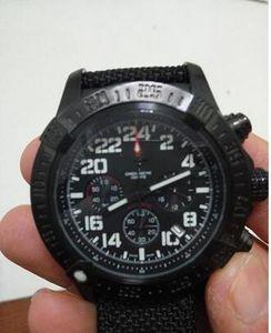 classic fashion free shipping Brei Quartz Chronograph Watch Men Black Dial Nylon Belt Original clasp 1884 Digital Watch