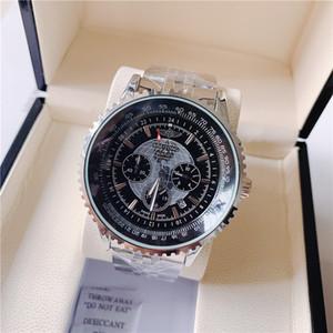 mens linea globo Uomo Nuovo Top orologi di lusso del progettista degli uomini della vigilanza di alta qualità guardare tutti i piccoli lavori Dial Reloj de Lujo 1884