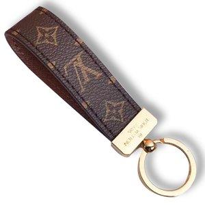 Fashion Designer célèbre luxe main PU trousseau cuir concepteur Keychain voiture Femmes Sac Charm Pendentif Accessoires