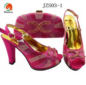 Dgrain High Quality Fashion Wholesale New Design African Shoes And Bags To Match Ladies Shoes And Bags Set