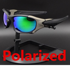 1 pcs New Polarized Sports Sunglasses Outdoor Fashion Cycling Glasses pitbos Top Quality Manufacturers Wholesale with box