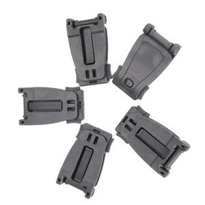1pc  5pcs  10pcs Outdoor Safety Survival Kits Outdoor Military First Aid Backpack Fixed Buckle Tactical Webbing Belt Clip Clasp