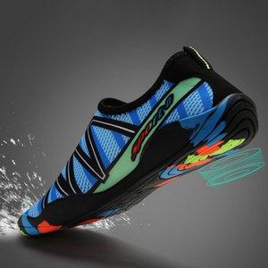 Unisex zapatillas de deporte 2020 zapatos de natación acuático Aqua Mar Beach Surf Zapatillas Upstream luz calzado deportivo Hombres Mujeres