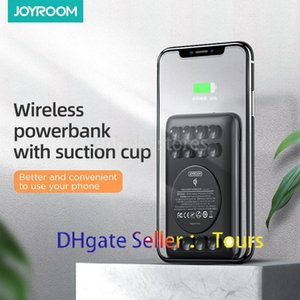 Poder JOYROOM inalámbrico portátil 10000mAh del cargador del banco de carga rápida el Powerbank Cargador con ventosas para el iPhone 11 Samsung S20