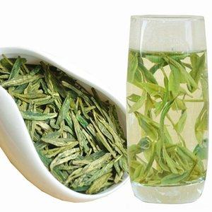 Dragon Well Sunglasses Китайский Лунцзин Китайский чай Лунцзин Китайский здоровья Зеленый продовольственной Уход для похудения Красота Зеленый чай