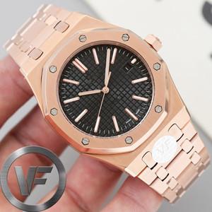 Nuevo TOP VF Sapphire Mens 41mm Watch 2813 Movimiento automático Moda Hombres Relojes Mecánicos Design Color Drishwatches