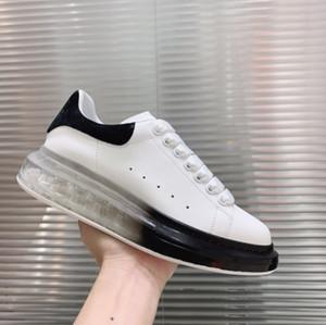 Zapatos informales de lujo del diseñador del amortiguador con estilo único para mujer para hombre Plataforma de la zapatilla de deporte Hommes diario Trainer Gradiente Chaussures Triple Alpargatas