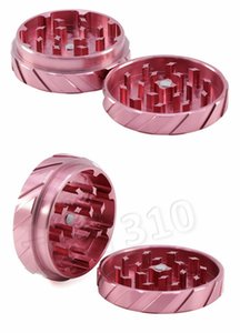 fashion Tyre Printing Grinders 4 Colors Aluminium Alloy 56*21mm Metal Grinder grinding tools other Smoking Accessories homwareT2I5528