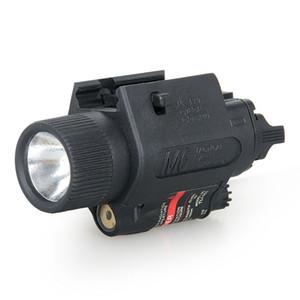 Nuovo arrivo M6 Tactical Flashlight laser rosso combinato con la torcia per caccia fucilazione di trasporto CL15-0015R