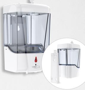 USB jabón, dispensador automático del desinfectante de manos libres sensor de infrarrojos sin contacto Cocina Baño 700ml de montaje en pared Jabón bomba de la loción KKA7901-4